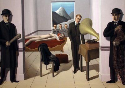 L'ASSASSINO MINACCIATO - 1927 di Rene Magritte (1898-1967, Belgium)